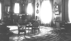 Formal Reception Room - Elegant Sitting Room of the Empress Alexandra Feodorvna in the Alexander Palace