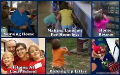 #EarthDay is a great day to #volunteer and lend a helping hand!  Here are some great ideas for your family!