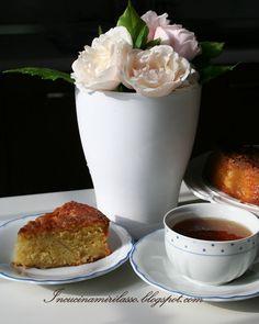 Una torta di mele per il tè del pomeriggio