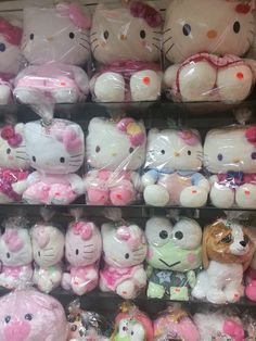 Uploaded by 🍯. Find images and videos about soft, theme and hello kitty on We Heart It - the app to get lost in what you love. Hello Kitty My Melody, Hello Kitty Items, Sanrio Hello Kitty, Hello Kitty Plush, Hello Kitty Imagenes, Pochacco, Cute Stuffed Animals, Sanrio Characters, Pink Aesthetic
