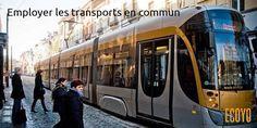 Astuce #ECOYO du jour: Employer les transports en commun  Un tram peut remplacer de 140 à 200 voitures. Pensez également à utiliser le train pour circuler à Bruxelles #stib #sncb #AstuceDuJour #AgirPourLeClimat #BeSustnbl