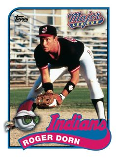 Had to add the funny one, even though it's not real. Cleveland Indians Baseball, Cleveland Rocks, Cleveland Ohio, Baseball Players, Baseball Cards, Hollywood Cinema, Sports Stars, Major League, Trading Cards