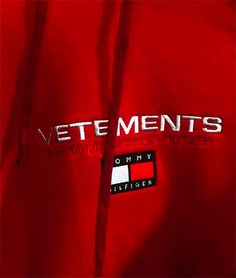 Brace Yourself, a Vetements x Tommy Hilfiger Collab Is Actually Happening Tommy Hilfiger, Streetwear, Brace Yourself, Luxury Branding, Girls, Product Launch, Shit Happens, Lifestyle Fashion, Future