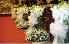 Arreglos para la iglesia de Erica Villegas Atelier Floral | Foto 80