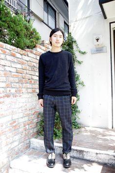 【STREET SNAP】Kojima | calvari stylist | ストリートスナップ | 表参道(東京)|