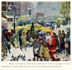 Christmas Art and Prints. We have collected a variety of traditional and whimsical Christmas art for sale. Our Christmas art and prints are reproduced on museum-quality papers and canvas and will last for generations. Old Time Christmas, Christmas In The City, Christmas Scenes, Old Fashioned Christmas, Christmas Music, Retro Christmas, Vintage Christmas Cards, Vintage Holiday, Christmas Pictures