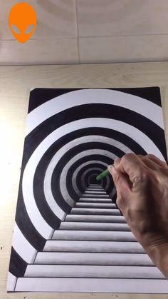 Filmmaking op art drawing op art tubes op art passo a passo op art Op Art, Art Drawings Simple, Art Painting, Art Drawings, Amazing Art Painting, Optical Illusions Art, Art, 3d Art Drawing, Op Art Lessons