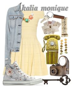 """""""BAYLEE"""" by the-unique-kalia-monique ❤ liked on Polyvore featuring Alexander McQueen, Pier 1 Imports, rag & bone, Georg Jensen and Converse"""