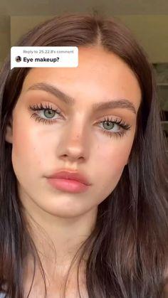 Fall Eye Makeup, Natural Eye Makeup, Eye Makeup Tips, Eyebrow Makeup, Makeup Videos, Beauty Makeup, Hair Makeup, Natural Beauty, Makeup Inspiration