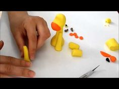 Fondant cake decorating - How to make a crocodile cake topper - YouTube