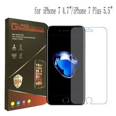 High quality For iPhone 6 Tempered Glass Screen Protector For iPhone 6s 7 Plus Screen Protector Film SE With Retail Package www.peoplebazar.net    #peoplebazar