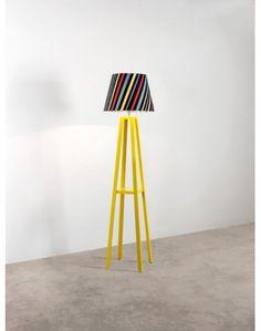 Coluna Amarela Listra Escura - R$565,00