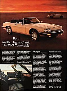 Original Advertisement | 1988 Jaguar XJ-S Convertible