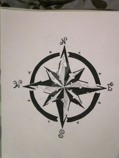 Compass Rose by cfilly on @DeviantArt