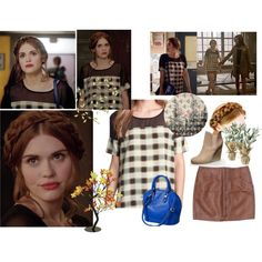 Lydia Martin 3x19 Letharia Vulpina by saniday on Polyvore featuring mode, Like Mynded, Pier 1 Imports and Universal Lighting and Decor