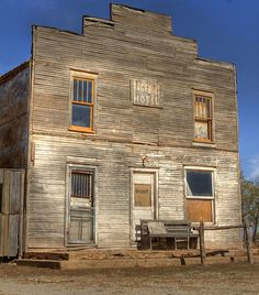 Ingalls Hotel, OK Territory was the site of a bloody gunfight between U.S. Marshals and the Doolin-Dalton gang.