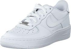 best service 72001 b3a71 Air Force 1 (GS) White. Köp Nike Air Force 1 (GS) White vita Skor Online ...