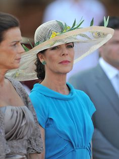 Princess Caroline Photos - Monaco Royal Wedding - The Civil Wedding Service - Zimbio