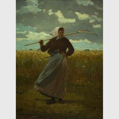 """Winslow Homer, """"The Return of the Gleaner,"""" (1867), oil on canvas"""