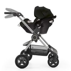 Turn your Stokke Scoot stroller into a travel system with a compatible car seat –All the details at www.stokke.com