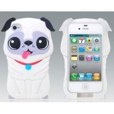 Pug iPhone Case! OMG!! I got to find one of these!!