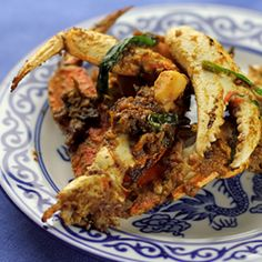 Vietnamese Salt Crab (Cua Rang Muối). I like this way better than the garlic roasted crab from Crustaceans!