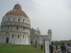 Plaza de los Milagros, Pisa, Italia (2014)