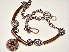 copper tube jewelry | From Pipes & Wire – Jewelry, what else?