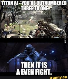 halo, titanfall2, titanfall, funny, fall Gangster.Gamer