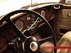 Rolls Royce, Silver Cloud I, Silver, Cloud, 1957, vintage, car, coche, interior, cuero, madera