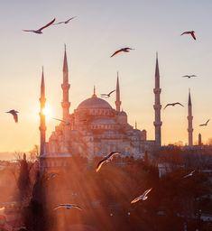 when I visited Istanbul/Turkey in Visit Istanbul, Istanbul Travel, Hagia Sophia, Mekka Islam, Turkey Pics, Islamic Wallpaper Hd, Mosque Architecture, Love In Islam, Beautiful Mosques