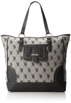 U.S. Polo Assn. Gatsby Jacquard Tote Shoulder Bag,Black,One Size U.S. Polo Assn. http://www.amazon.com/dp/B00HH33PIC/ref=cm_sw_r_pi_dp_UN-qub055ZD0Z
