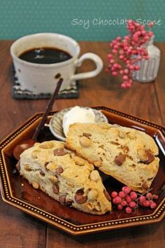 corecle コレクル > PAO > 節分豆とチョコの香ばしいサックリスコーン
