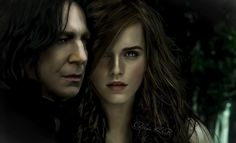 Snape + Hermione// Snager by AlenaKP