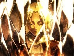Annie Leonhardt in a crystal | Shingeki no Kyojin