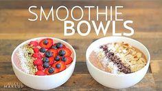 Full Super Smoothie Bowl Recipes - YouTube