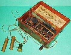 Davis & Kidder's Magneto Electric Machine GG025 IMPROVED Davis & Kidder's PATENT MAGNETO ELECTRIC MACHINE for Nervous diseases. Civil War MEDICAL QUACK MACHINE (patented April 15, 1854).