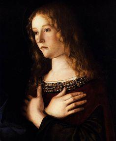 Giovanni Bellini, Sacra conversazione. Maddalena (particolare), Gallerie…