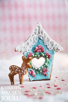 Täydellinen piparkakku | Kotivinkki Christmas Tea, Christmas Cookies, Christmas Ornaments, Christmas Stuff, Gingerbread Houses, Bake Sale, Seasons, Holiday Decor, Party