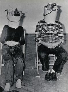 KwieKulik, Activities with the Head, 1978, Body performance