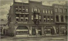 Hotel van Ham ± 1930