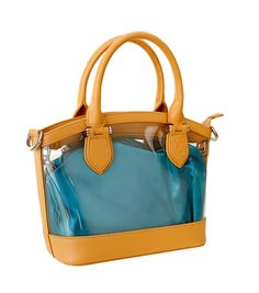 The D by Dominie Handbag featuring an ocean depths detachable liner