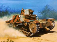 Italian M 39/11 in Ethiopia 1941
