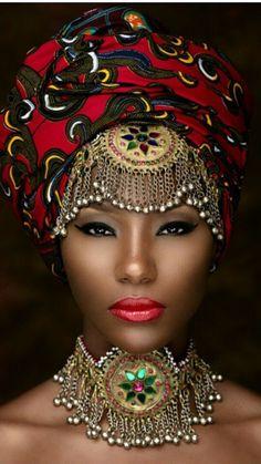 Nubian Queen. Black inspiration