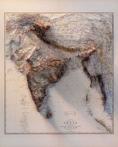India World Map, India Map, World Geography Map, Teaching Geography, Geography Activities, Surface Note, Terra Nova, India Facts, General Knowledge Facts