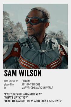 Sam Wilson Polaroid Poster
