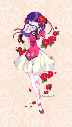 Marinette in a cute dress~ (Miraculous Ladybug) Miraclous Ladybug, Ladybug Comics, Lady Bug, My Princess, Filles Equestria, Tikki Y Plagg, Marinette Ladybug, Marinette Anime, Ladybug Und Cat Noir