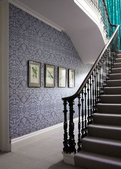 Grey Orangery Lace Wallpaper - Wallpaper - Matthew Williamson