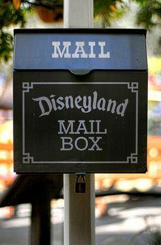 Disneyland Mail Box by andy castro, via Flickr