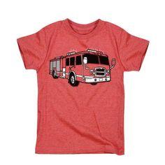 Firetruck Toddler Tee